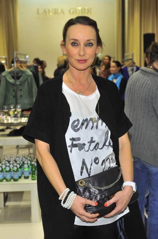 Laura Guidi - znani na prezentacji kolekcji