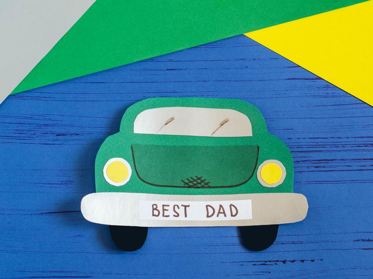 Laurka dla taty samochód