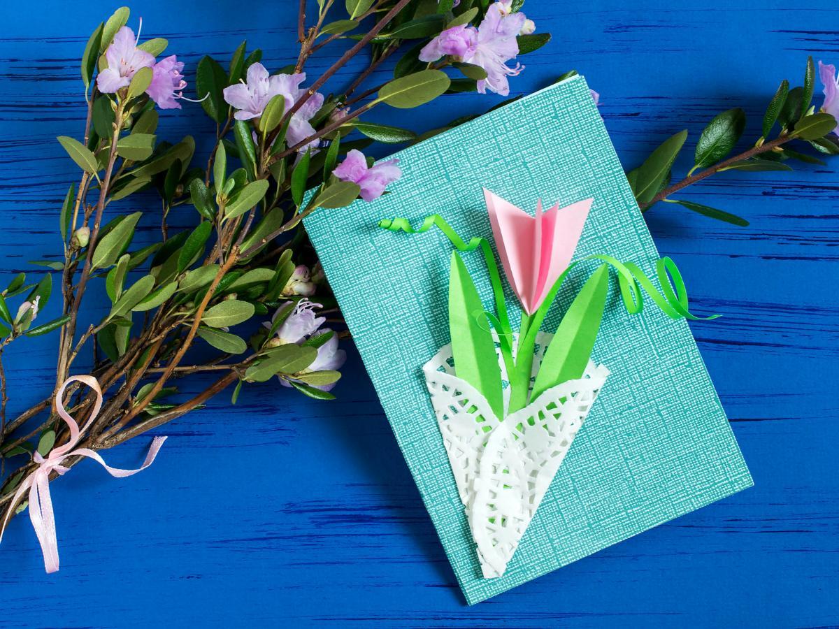 Laurka tulipan na Dzień Kobiet