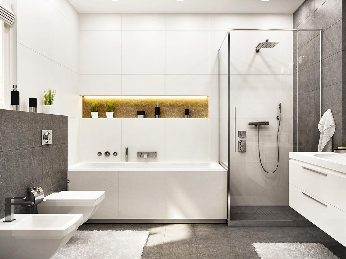 łazienka z wanną aranżacje
