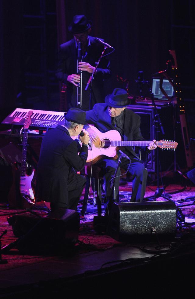 Leonard Cohen na koncercie w Warszawie