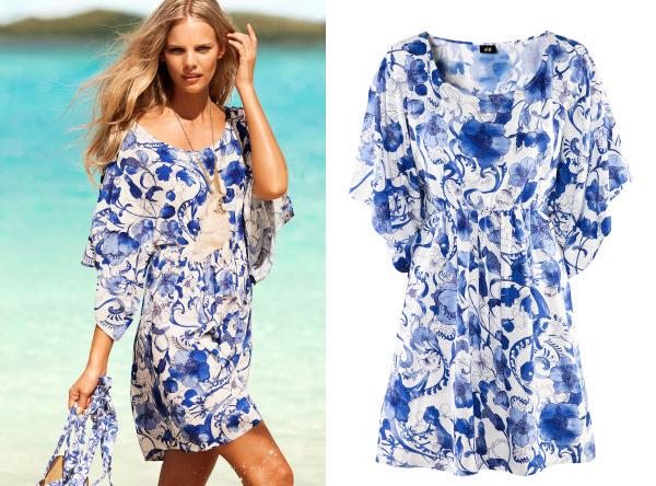 Letnie sukienki idealne dla kobiet w ciąży od H&M