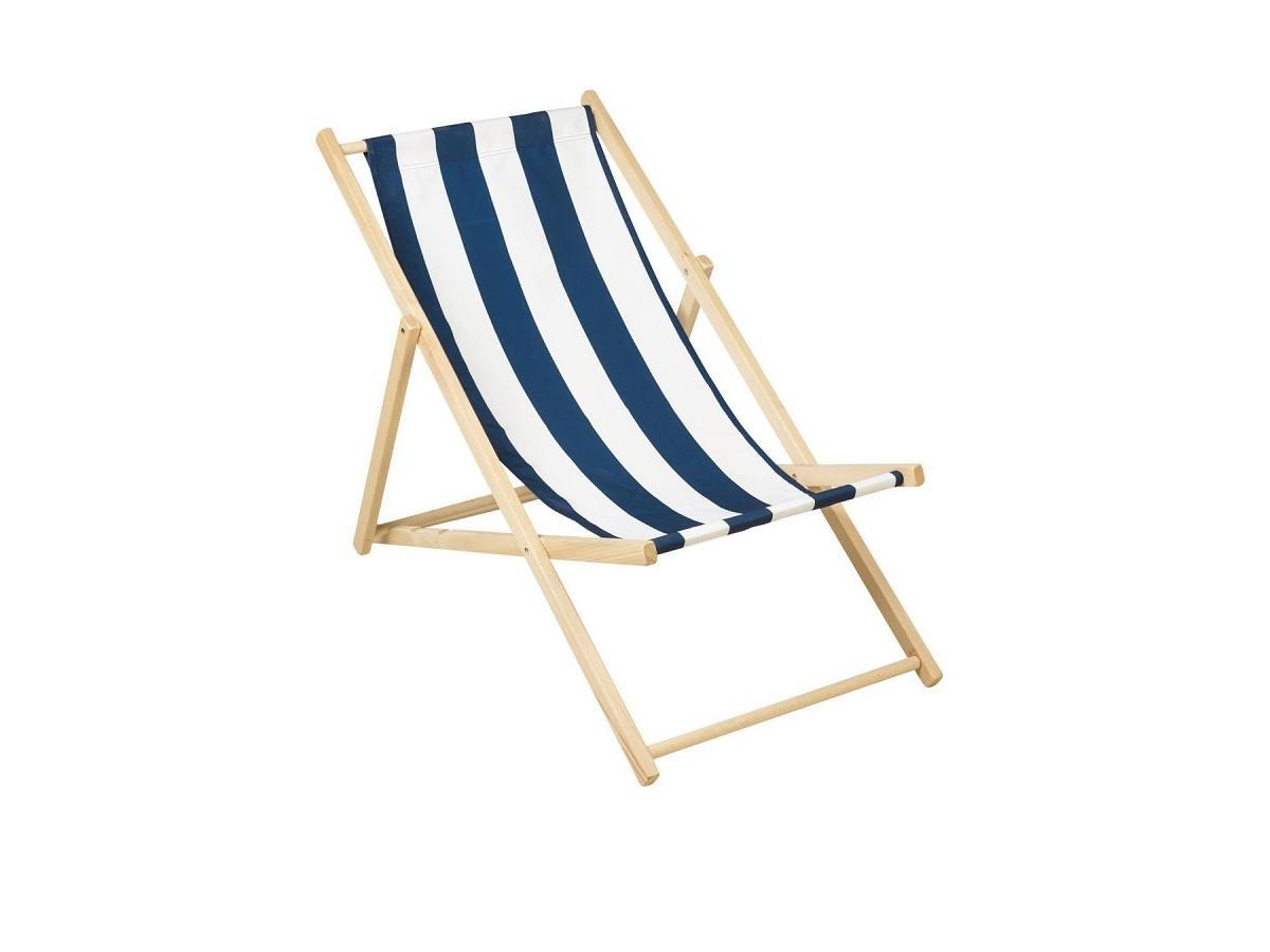 Leżak plażowy drewniany, Leroy Merlin
