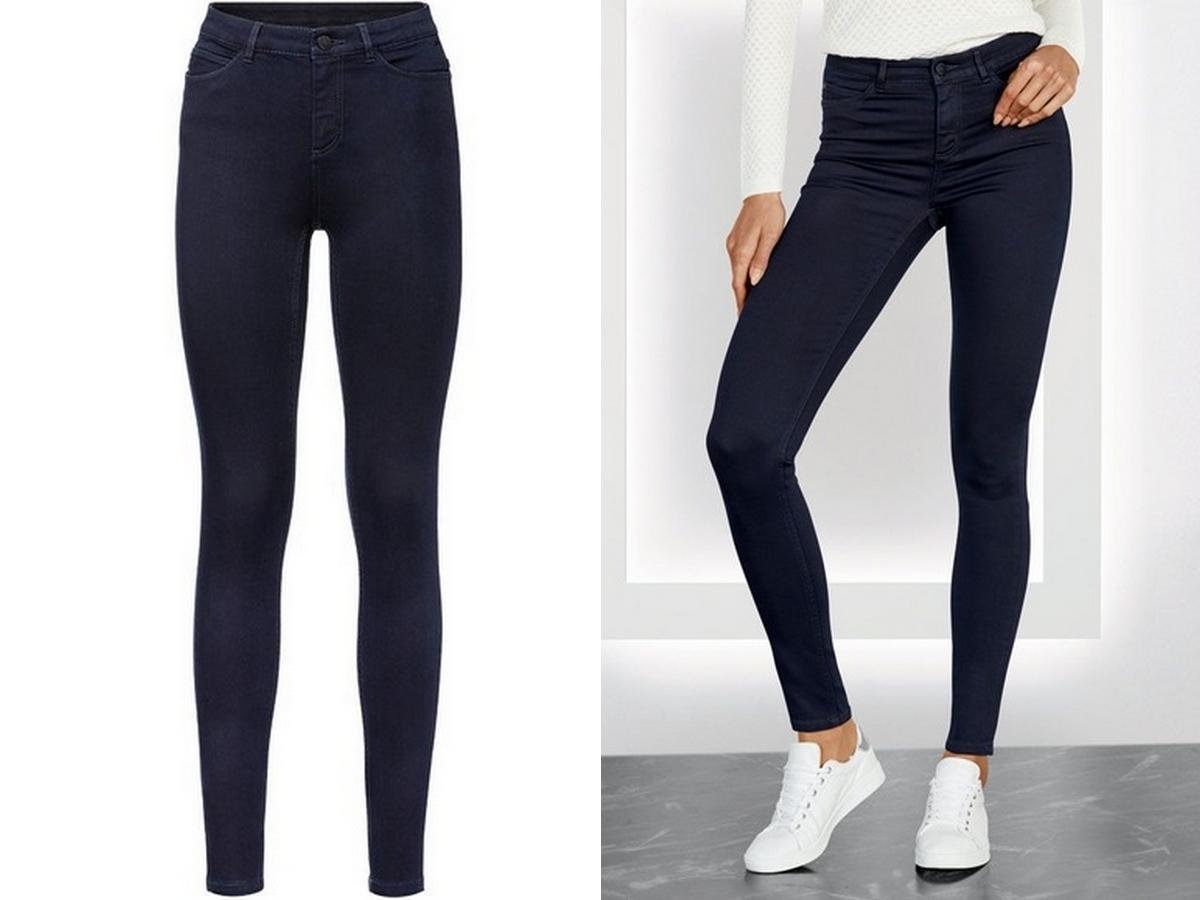 wyszczuplające jeansy z Lidla