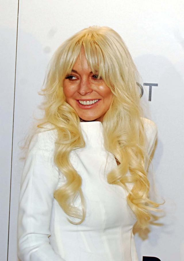 Lindsay Lohan, wpadki gwiazd