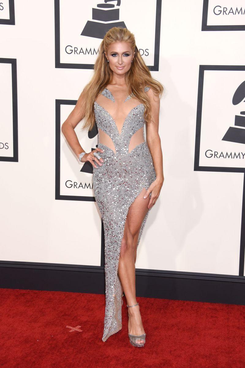 Nagrody Grammy 2015: Paris Hilton