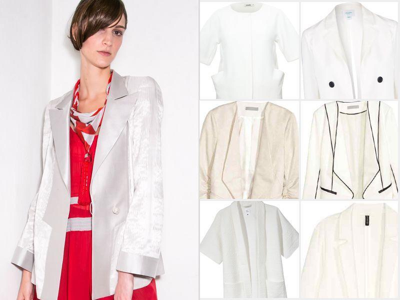 #ListaZakupów: biała marynarka