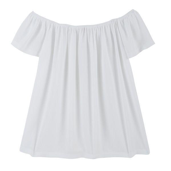 #ListaZakupów: bluzka z odkrytymi ramionami