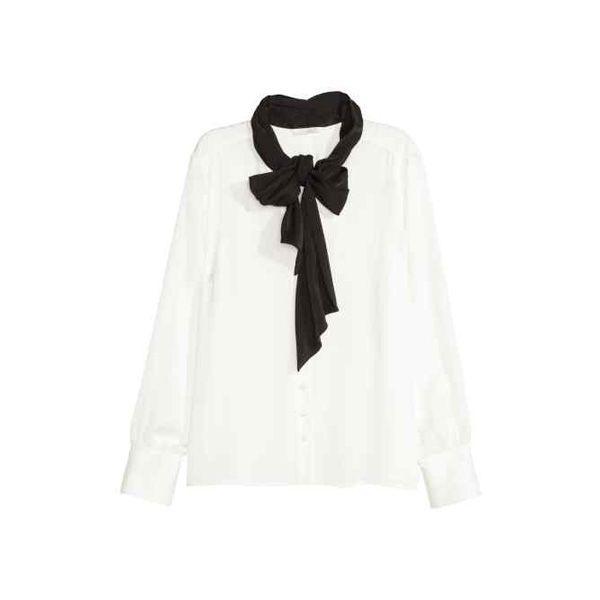 #ListaZakupów: modna bluzka z kokardą