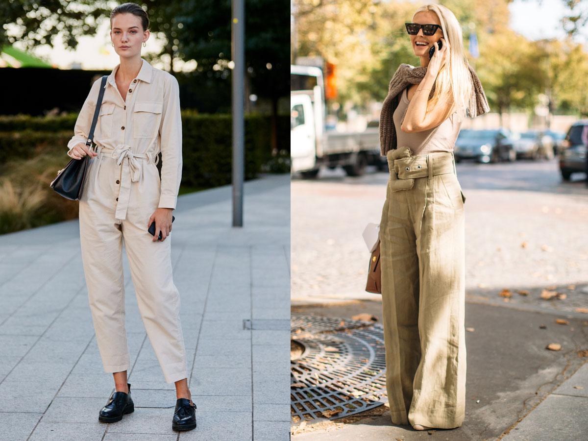 Lniane spodnie 2019