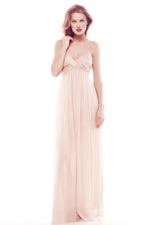 zwiewna sukienka Mango w kolorze jasnoróżowym - lato 2013
