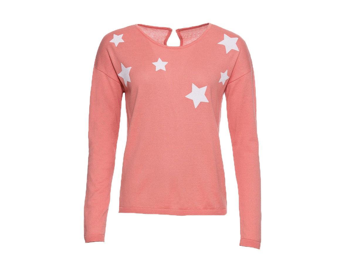 Sweter w gwiazdki, Bonprix, cena ok. 109,99 zł