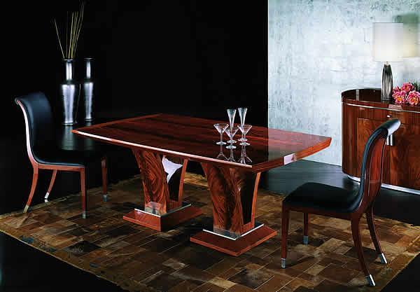 Nowoczesny stolik jadalny w kolorze ciemnej czekolady - pomysły 2013