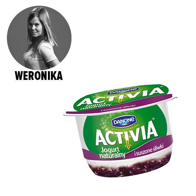 Activia z owocami - cena ok. 3.49 zł