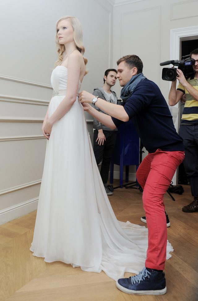 Zień, suknie ślubne 2012, Honorata