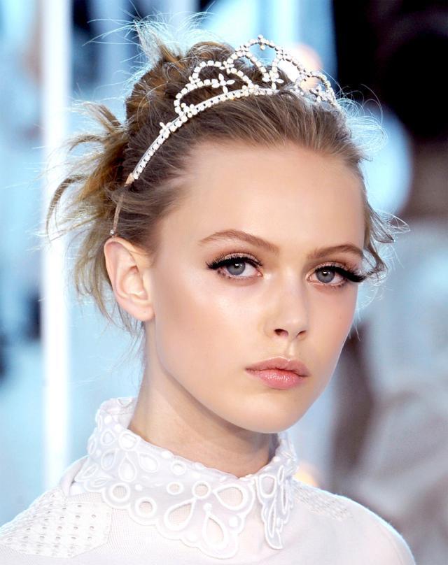 makijaż na Sylwestra, na karnawał, trendy, Louis Vuitton, jak z pokazu, krok po kroku