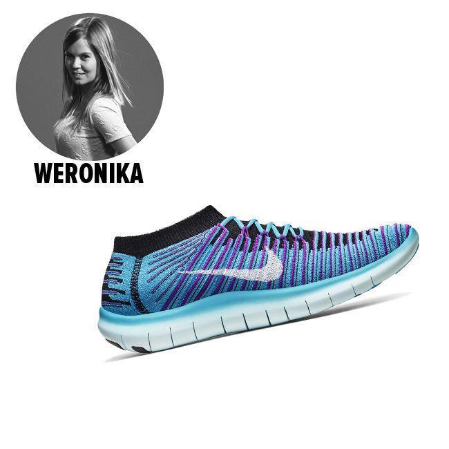 Buty Nike Free RN Motion Flyknit - cena 629 zł