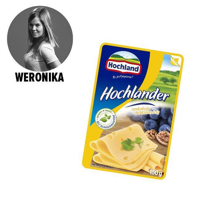 Ser w plastrach Hochlander - cena ok. 4.60 zł