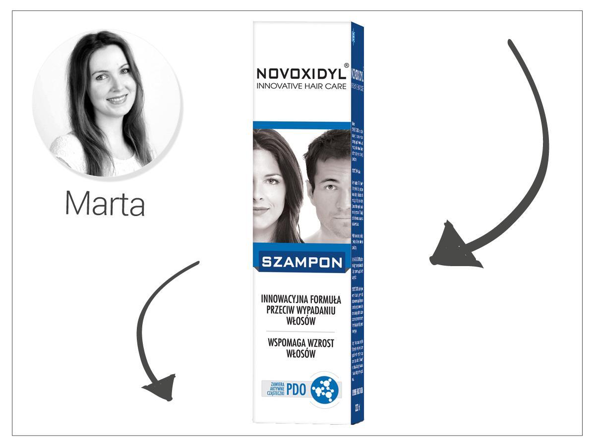 Szampon do włosów przeciw wypadaniu Novoxidyl, cena: ok. 23 zł