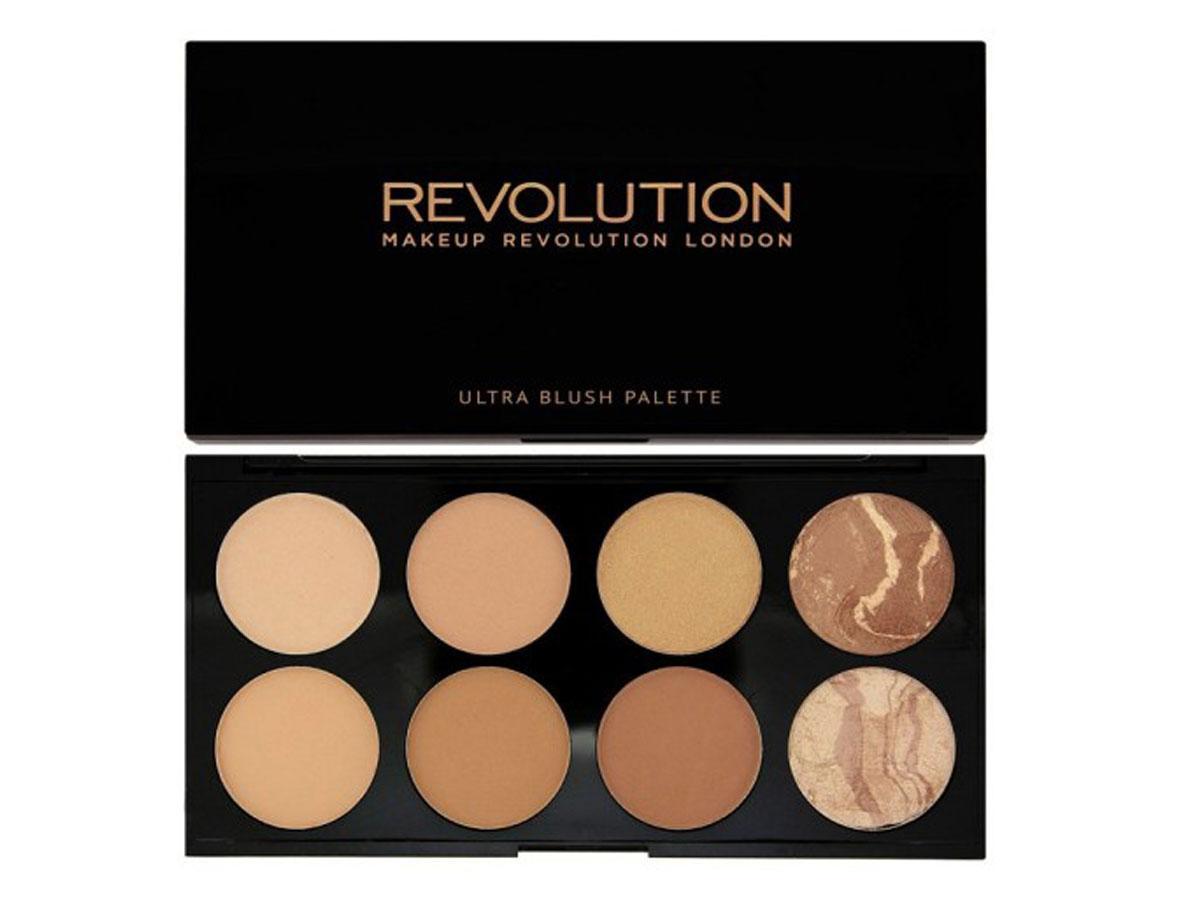 Paleta bronzerów Makeup Revolution Blush Palette All About Bronze