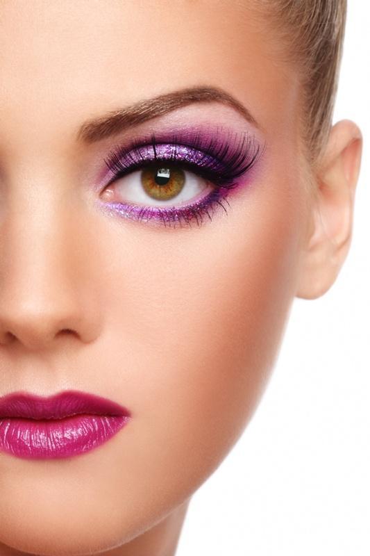 Makijaż - focus na jeden kolor