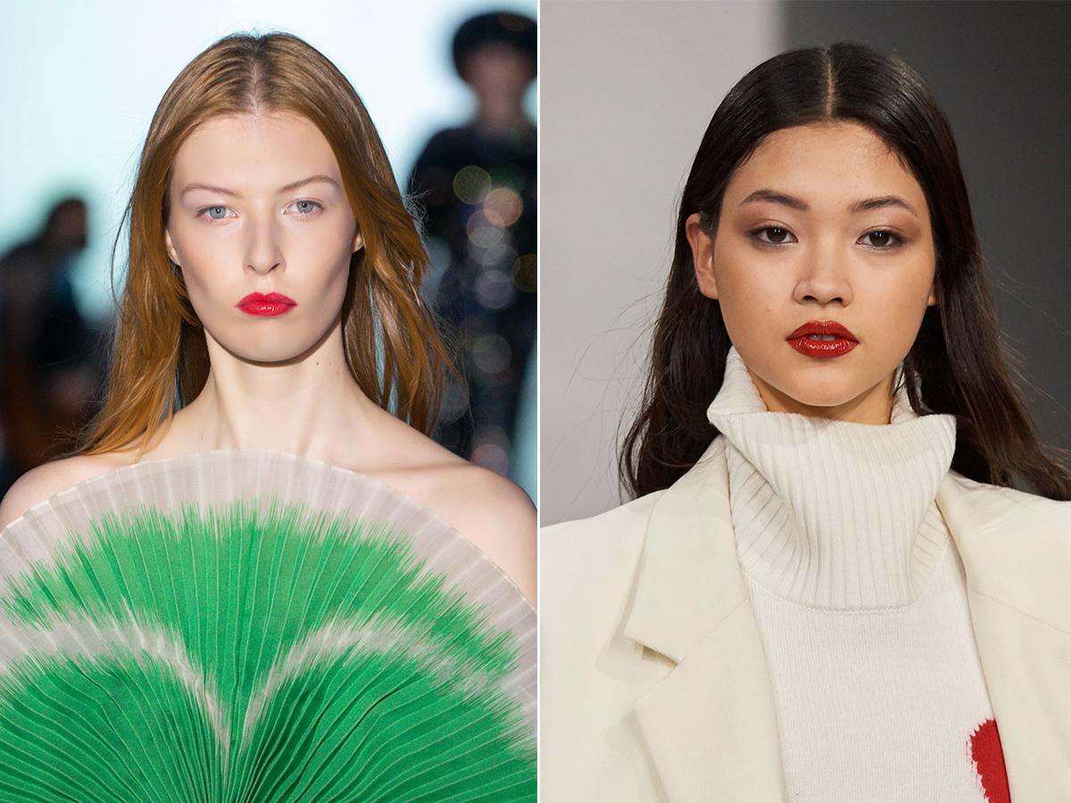 czerwona szminka jesień zima 2021 2022