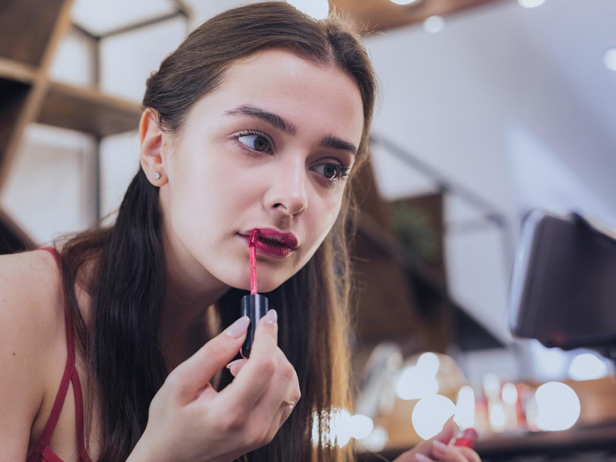 makijaż na randkę