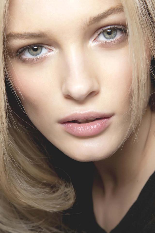 makijaż, blond, blondynka, Święta, wigilia, gwiazdka