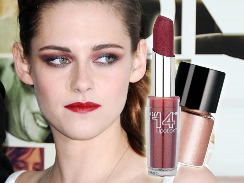 makijaż Kristen Stewart, makijaż krok po kroku