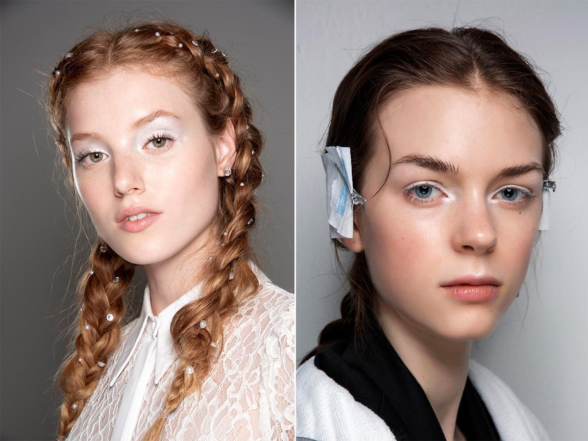makijaż na ślub 2021 białe powieki