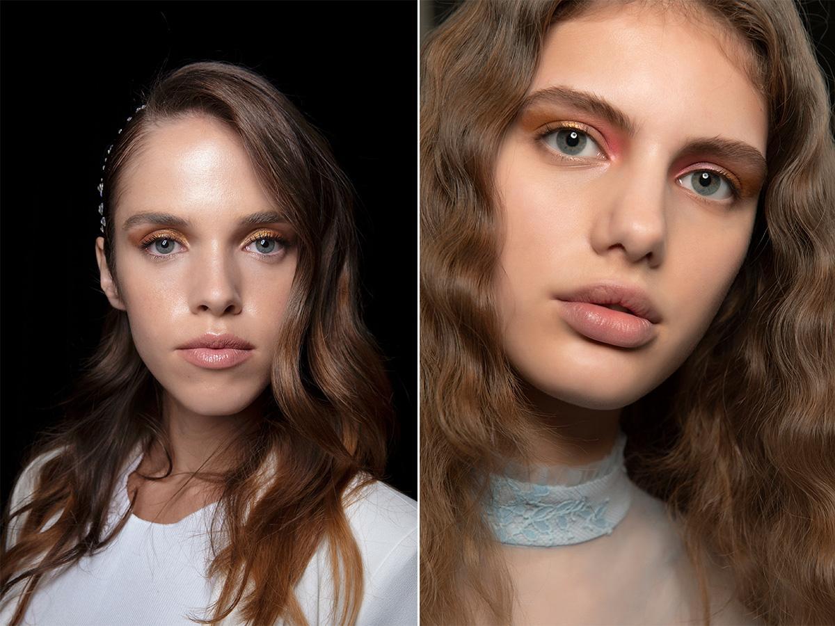 makijaż na ślub 2021 złoto