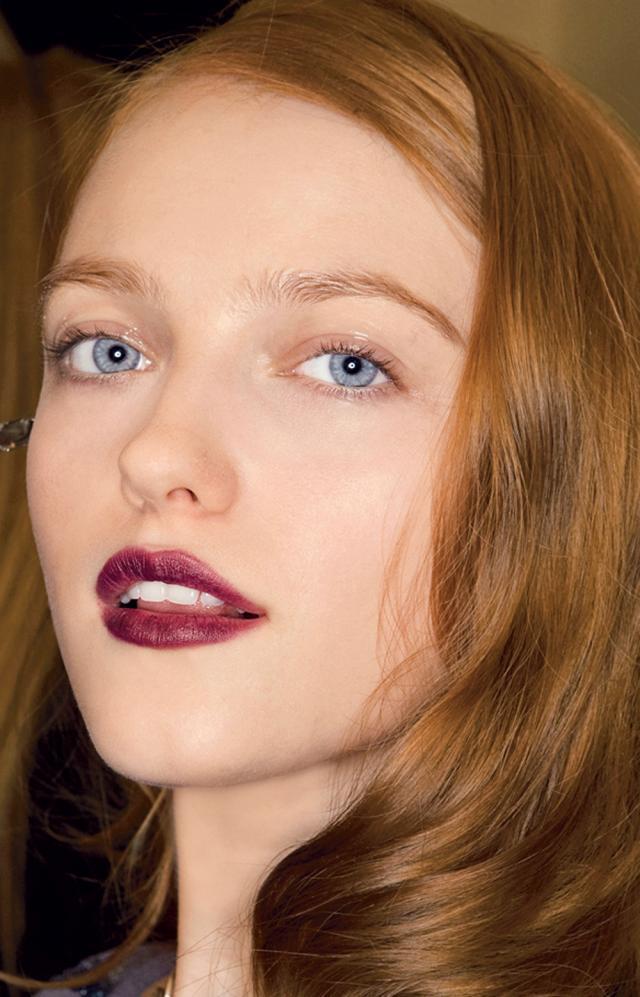 Zmierzch, gotycki makijaż, wampiry, trendy