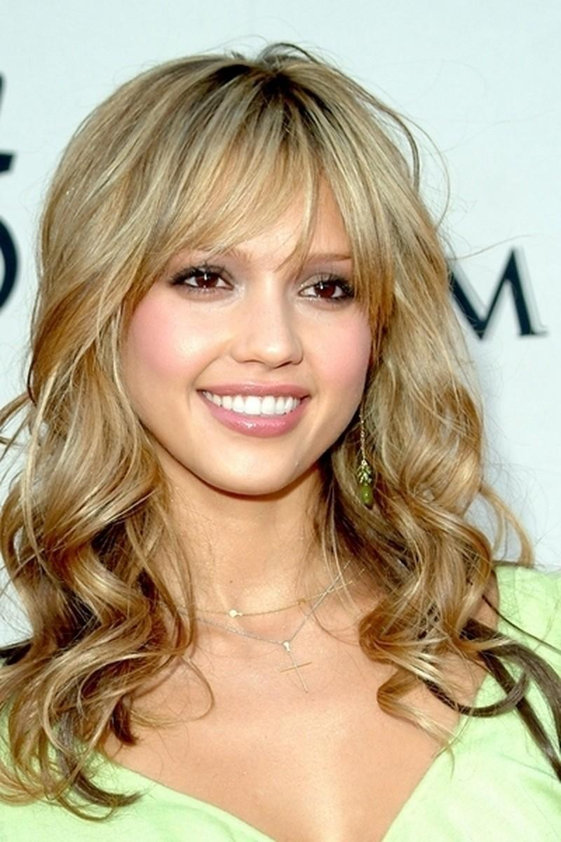Nude make up - Jessica Alba