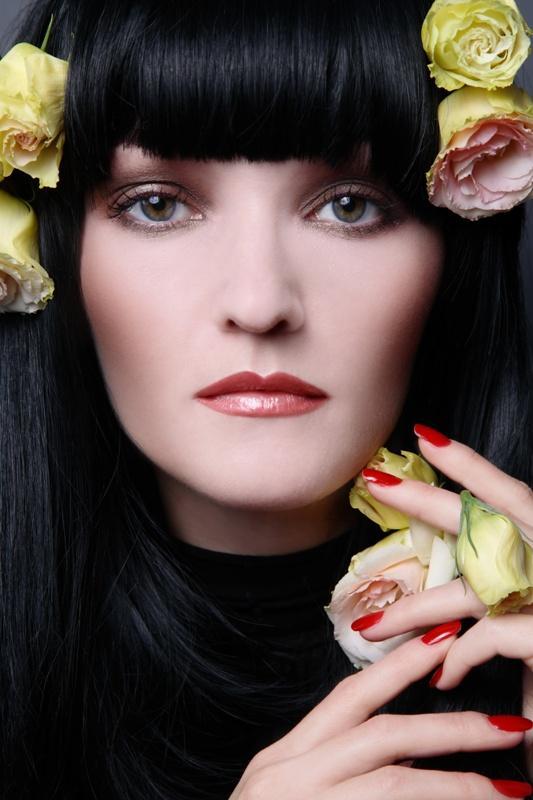 Makijaże - kolory kwiatów