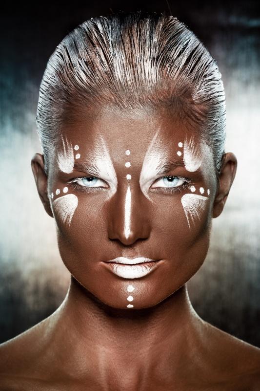 Makijaże w klimacie bodypainting