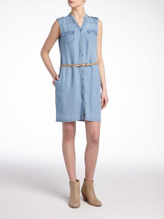 Mała jeansowa sukienka - 15 modeli