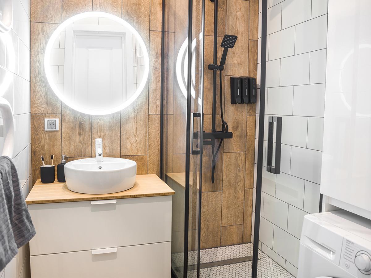 łazienka z prysznicem aranżacje