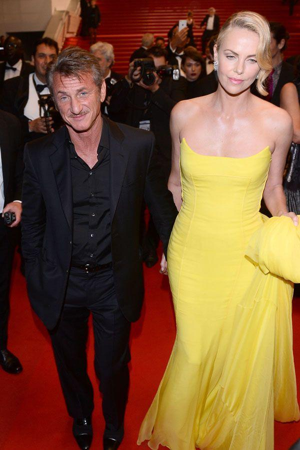 Festiwal w Cannes: Charlize Theron w długiej żółtej sukni oraz Sean Penn