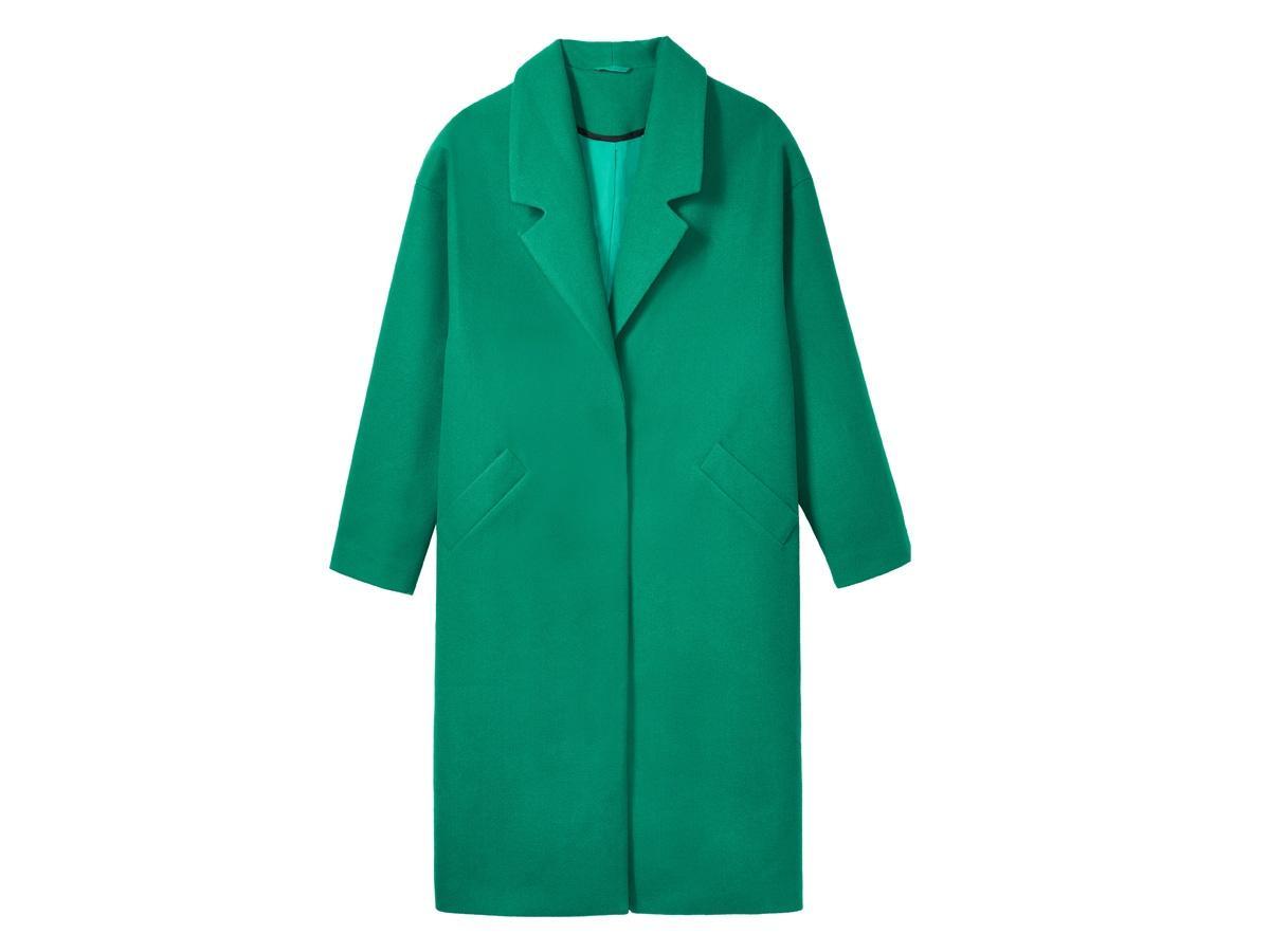 Zielony płaszcz House, cena