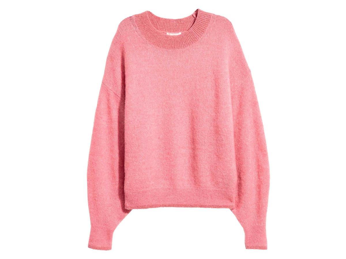 Różowy sweter H&M, cena