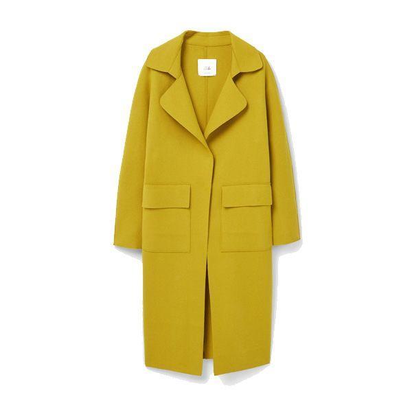 Żółty płaszcz Mango, cena