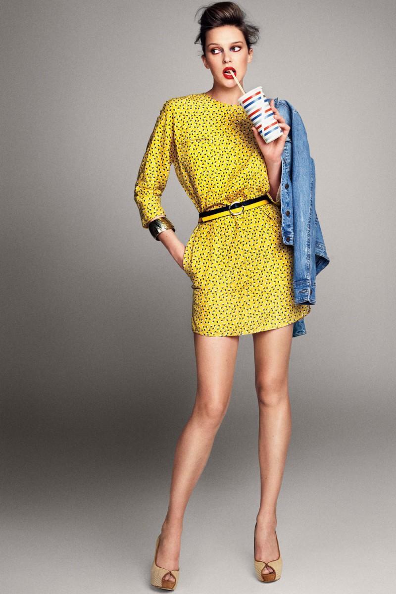 żółta sukienka Mango - moda wiosna/lato