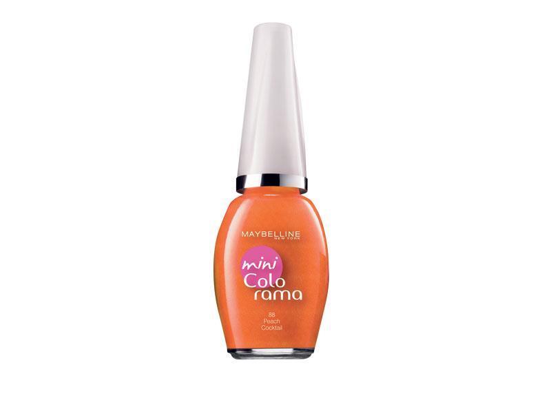 manicure, pomarańczowy, manikiur