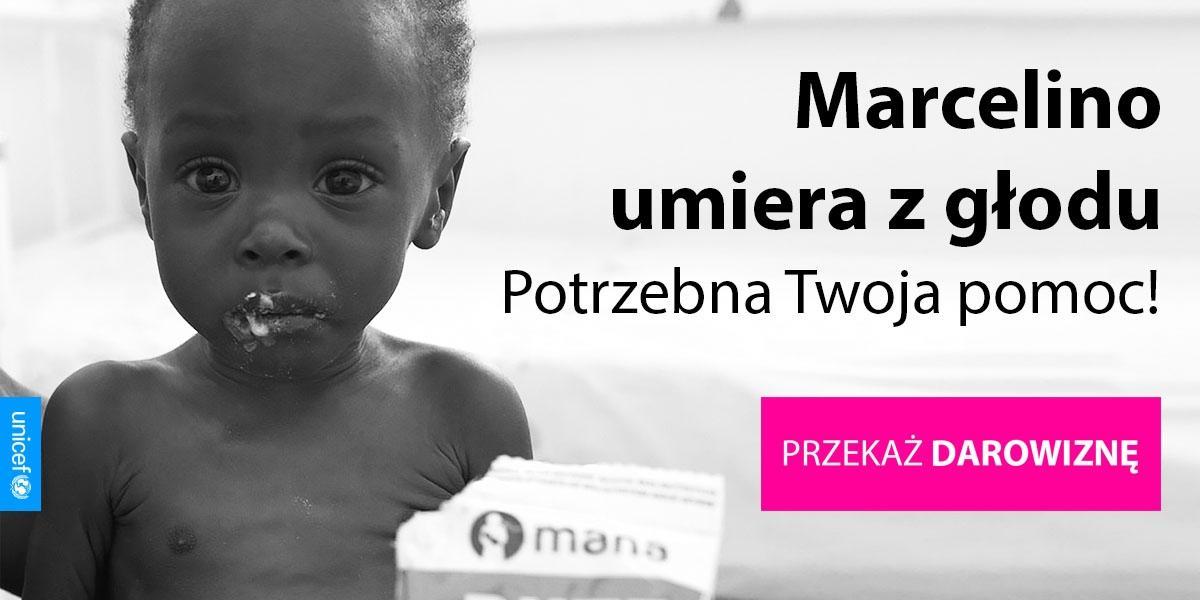 Marcelino umiera z głodu. Potrzebna jest twoja pomoc!