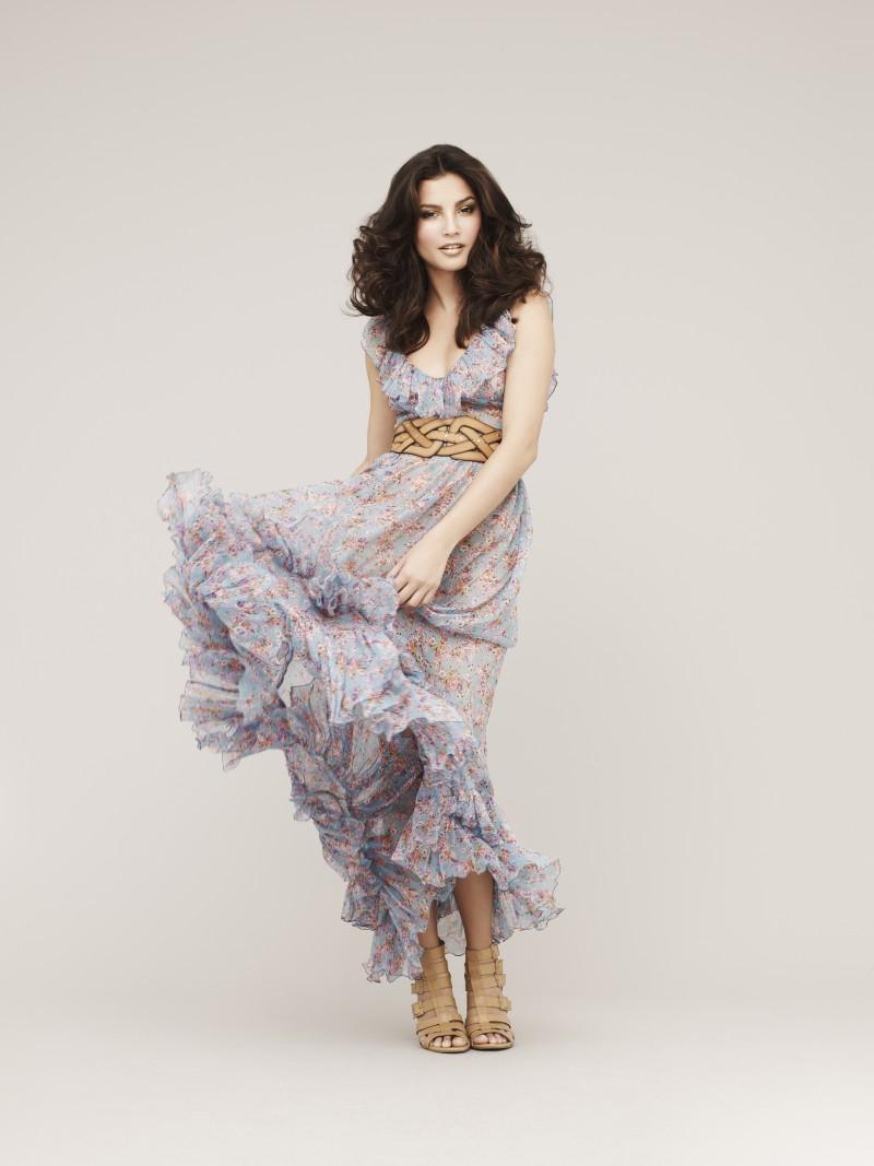 popielata sukienka Marks & Spencer - wiosenna kolekcja