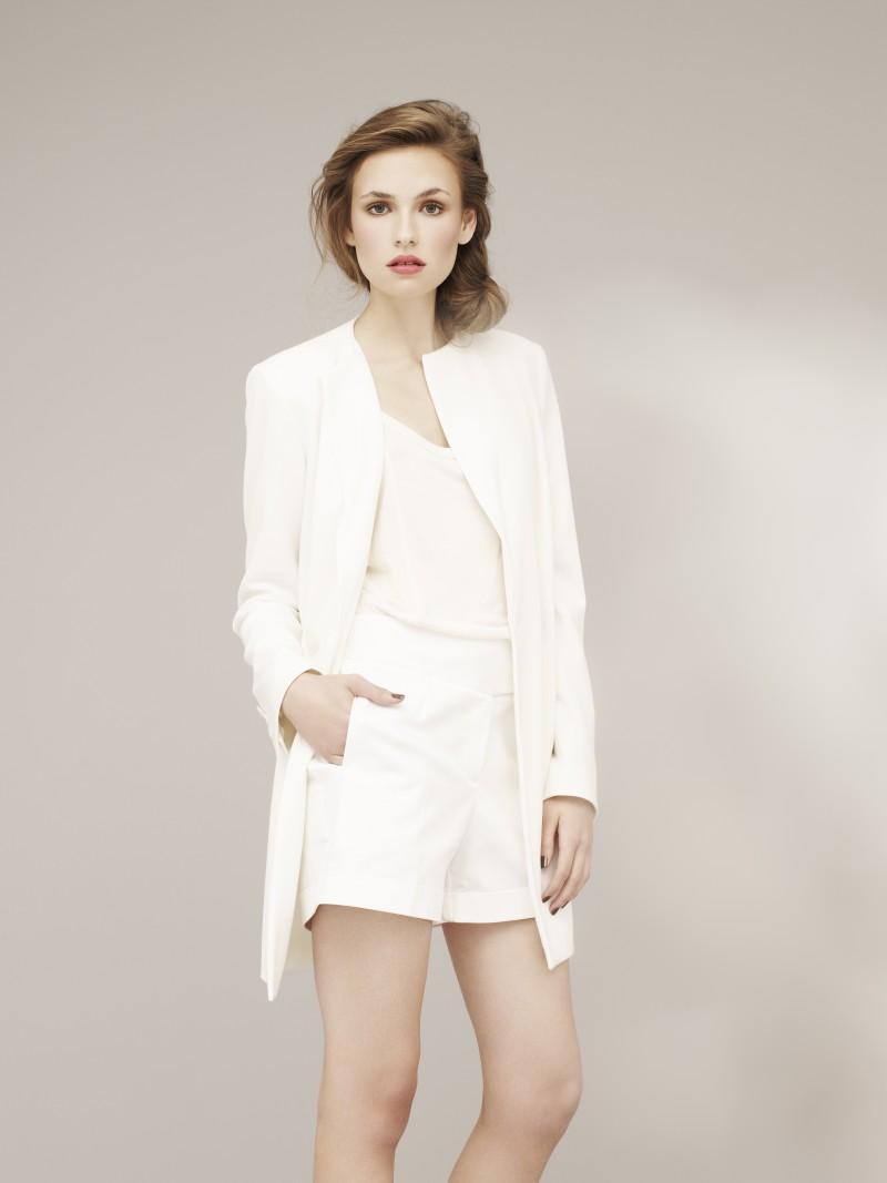 białe szorty Marks & Spencer - wiosenna kolekcja