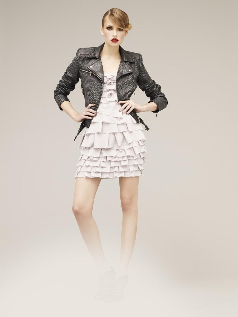 czarna kurtka Marks & Spencer ze skóry - wiosenna kolekcja
