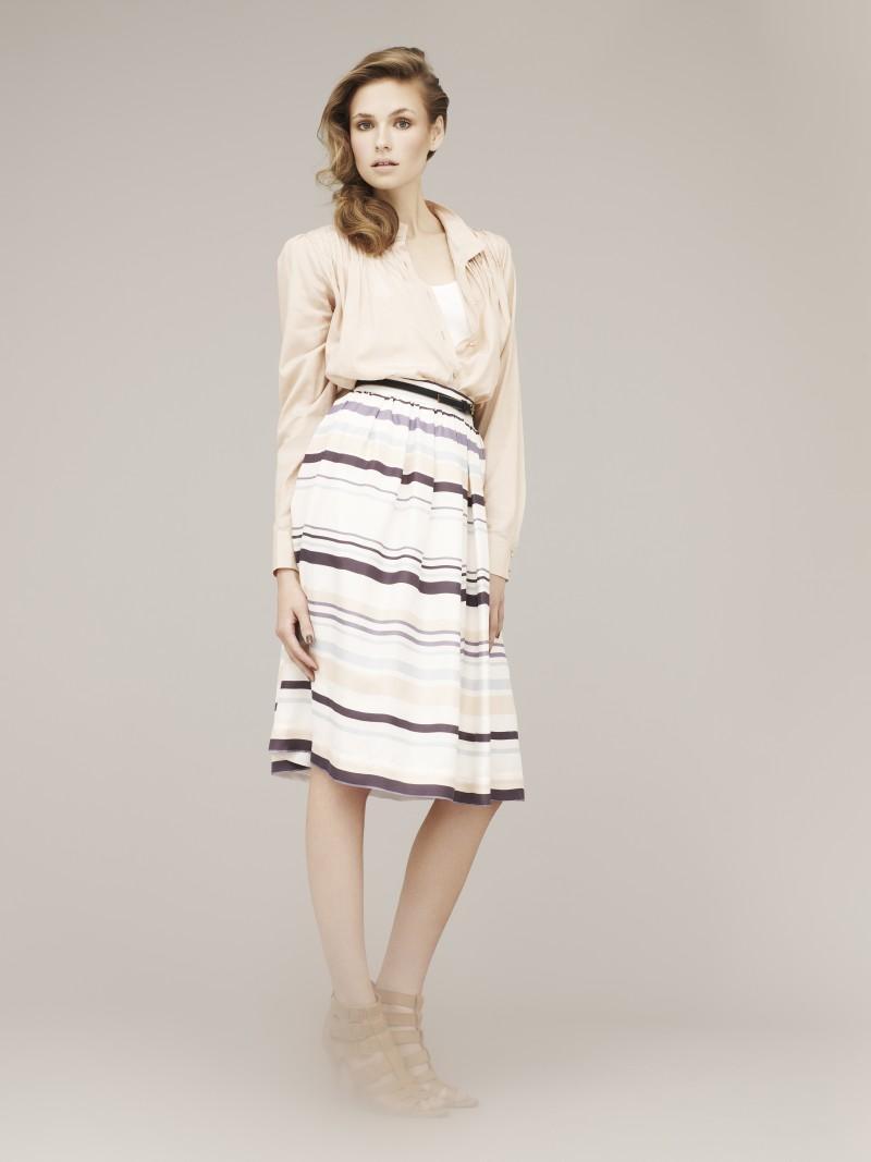 biała spódnica Marks & Spencer - trendy wiosna-lato