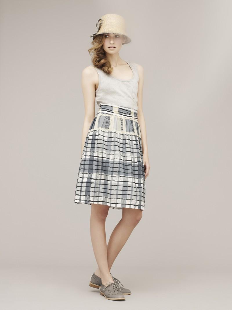 szara sukienka Marks & Spencer - wiosna/lato 2011