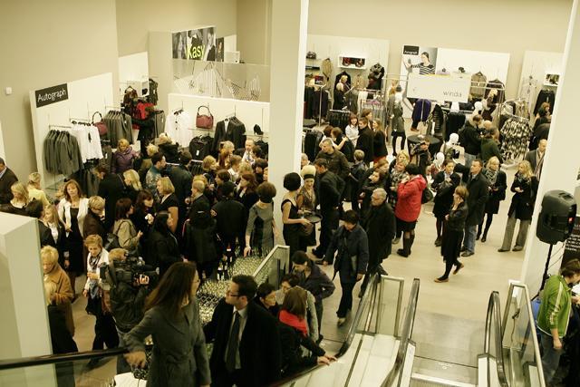 Marks & Spencer - wielkie otwarcie salonu - galeria
